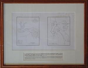 Plan de l'Embouchure de Rio Colorado dans la Mer Vermeille/Plan du Port de S. Diego situe...