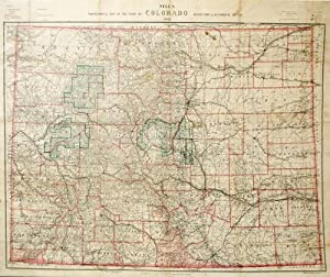Nell's Topographical Map of the State of Colorado: Louis Nell