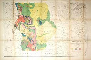 General Geological Map of the Area Explored and Mapped by Dr. F.V. Hayden and the Surveys Under His...