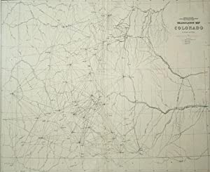 Triangulation Map of Colorado, Department of the Interior U.S. Geological and Geographical Survey ...