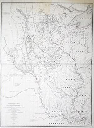 Hydrographical Basin of the Upper Mississippi River from Astronomical and Barometrical Observations...