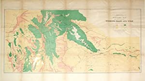 Economic Map of Portions of Wyoming, Idaho, and Utah from the Department of the Interior U.S. ...