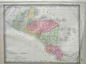 Rand McNally and Co's Central America