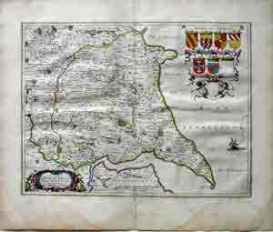 Dvcatvs Eboracensis: East Riding of Yorkshire: Willem Bleau