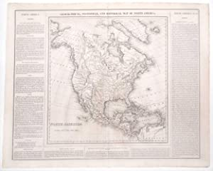 Geographical, Statistical and Historical Map of North America