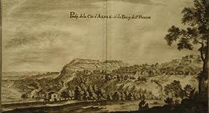 Prosp. de la Cite d'Alize, et du Bourg de St. Rheine (France): Merian