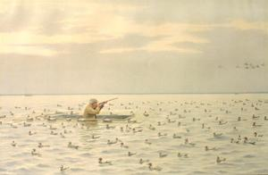 Shooting Ducks from a Battery: Arthur Burdett (A.B.) Frost