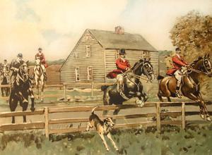 The Queens County Hunt: W.S. Vanderbilt Allen