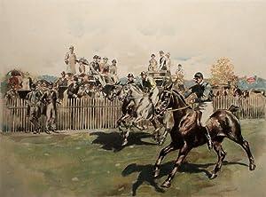 Polo Race for Polo Ponies: W.S. Vanderbilt Allen