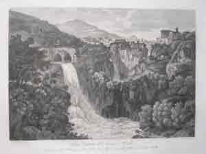 Nuova Cascata dell Aniene a Trivoli: Gaetano Cottafavi