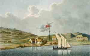 Etablissement des Missionnaires Anglais a Kidikidi: Louis Isidore Duperrey