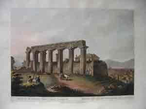 Ruins of an Ancient Temple Near Corinth: Sir Robert Ainslie