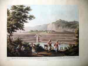 Reservoir of the Sealed FOuntain Near Bethlehem: Sir Robert Ainslee