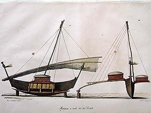 Bateaux a Voile des Iles Radak: Louis Choris