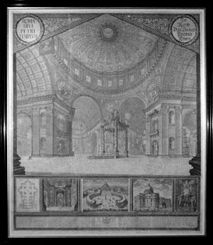 Roma Divi Petri Templvm: Joann Andreas Graff
