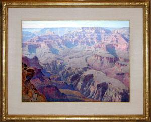 Grand Canyon - Yavapai Point: Gunnar Widforss (1879-1934)