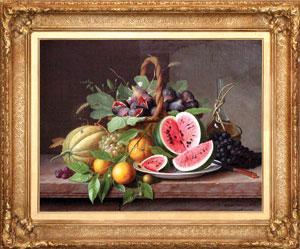 Still life with fruit: William Hammer