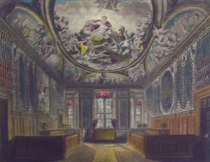 Queens Gaurd Chamber, Windsor Castle: William Henry Pyne