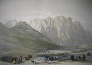 Encampment of the Avad-Said: David Roberts