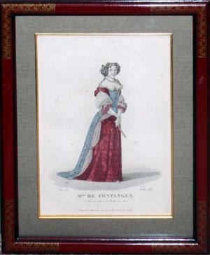 Mlle. De Fontages (Marie Angélique de Scorailles de Roussille, duchesse de Fontanges (1661 –...