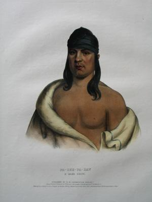 Pa-She-Pa-Haw, A Sauk Chief: Mckenney and Hall