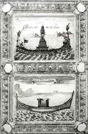 Balon del Re di Siam - Ballon de Nobili di Siam: Vincenzo Coronelli