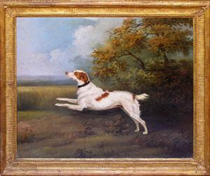 Painting of a Spaniel