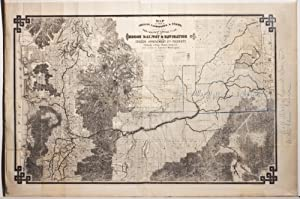 Map of the Parts of Oregon, Washington & Idaho