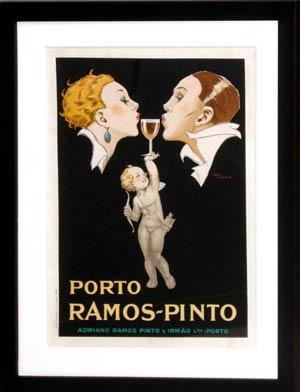 Porto Ramos-Pinto (wine advertisement poster): Rene Vincent (French, 1879-1936)