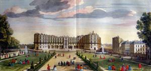 Plate 82, Vue de vieux Chateau de St. Germain en Laye