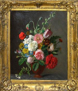 Still Life of Bouquet of Flowers