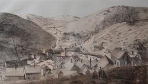 Central City, Looking up Spring Gulch: A.E. Mathews