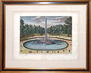 Fountaine de Encelade.: F. Delamonce