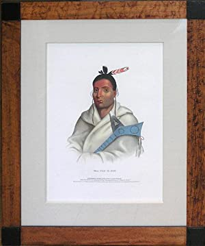 Waa Top E Not, Chippewa nation: Thomas L. McKenney & James Hall (1785-1859 / 1793-1868)