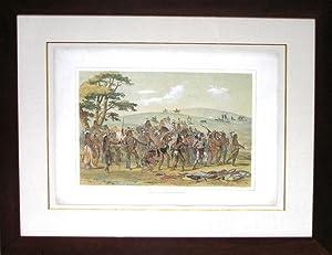 Archery of the Mandans: George Catlin (1794-1872)