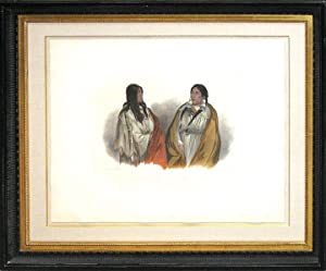 Woman of the Snake Tribe/Woman of the Cree Tribe: Karl Bodmer