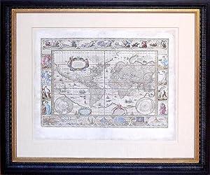 Nova Totius Terrarum Orbis Geographica acltydrogrphica Tabula: Willem Blaeu (1571-1638)