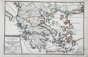 Grece Moderne ou Partie Meridionale de la Turquie en Europe: DE FER, N