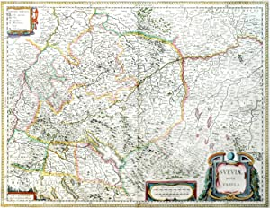 Flandria et ZeelandiaComitatus. [Map of Flanders and Zeeland, Belgium-Netherlands-France /Vlaande...