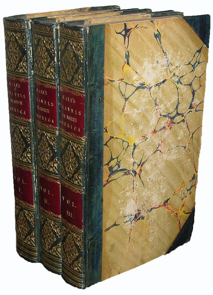 Travels in North America in the Years 1827 and 1828. HALL, Captain Basil (1788-1844). Hardcover