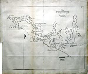 Plano del Puerto de Clayocuat en la: QUIMPER, Manuel (c.