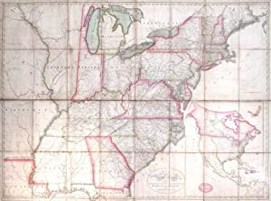 Bradley's Map of the United States
