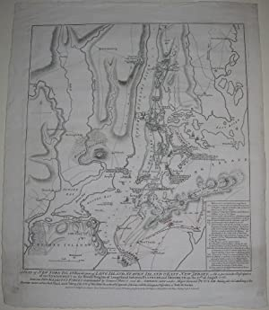 A Plan of New York Island, with part of Long Island, Staten Island & East New Jersey.