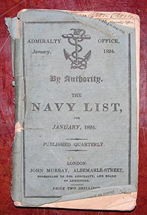 The Navy List, for January, 1824.