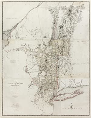 A Chorographical Map of the Province of New York in North America