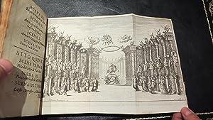 Il pomo d'oro. Festa teatrale Rappresentata in: SBARRA, Francesco (1611-1668)