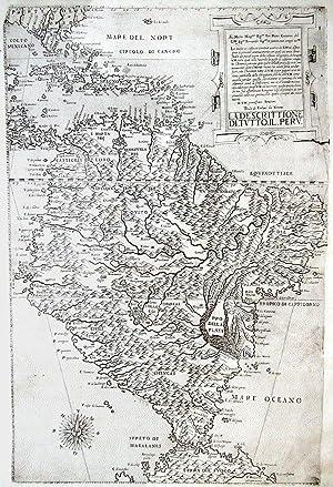 La Descrittione. di. Tutto. Il. Peru.: FORLANI, Paolo (fl.