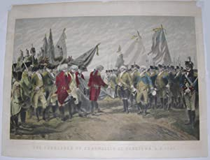 The Surrender of Cornwallis at Yorktown. A.D. 1781.: DUMARESQ, Charles Édouard Armand (1826-1895).