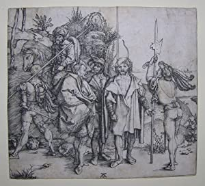 Five Soldiers and a Turk on Horseback.: DURER, Albrecht (1471-1528).