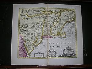 Belgii Novi, Angliae Novae, et Partis Virginiae: JANSSONIUS, Johannes (1588-1664).